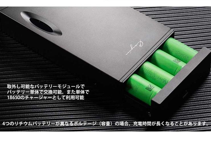Cayin C9 バッテリー部分イメージ