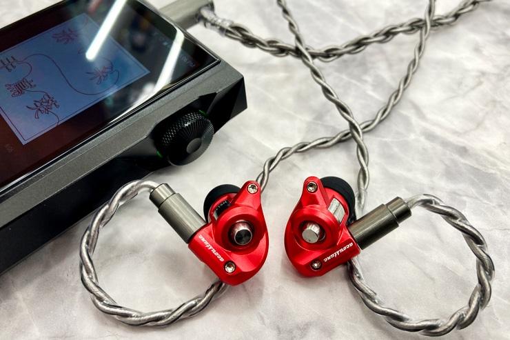 HS1300(赤)にARS133を装着