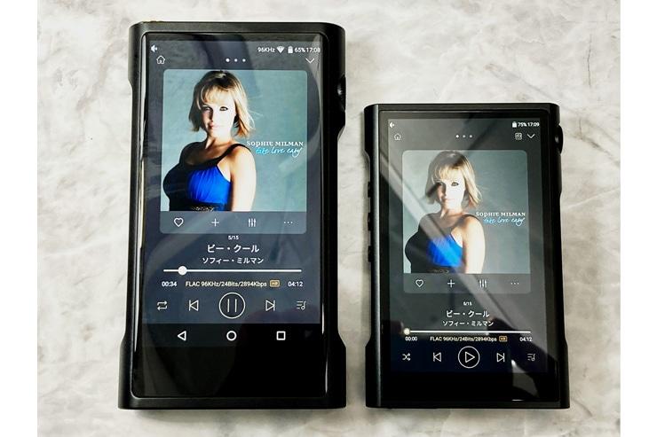 M8とM3Xユーザーインターフェースは共通イメージ画像