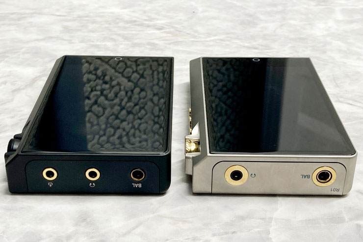 左:N6ii DAP/A01、右:N6ii-Ti R-2R