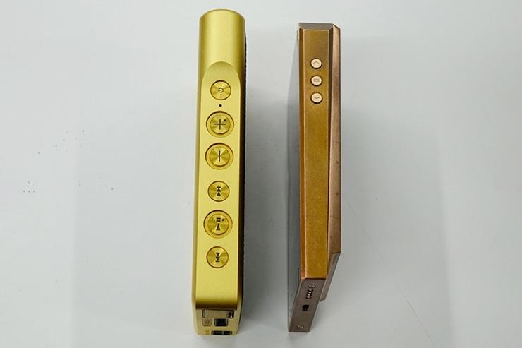 左:SONY NW-WM1Z 右:AK380 COPPER