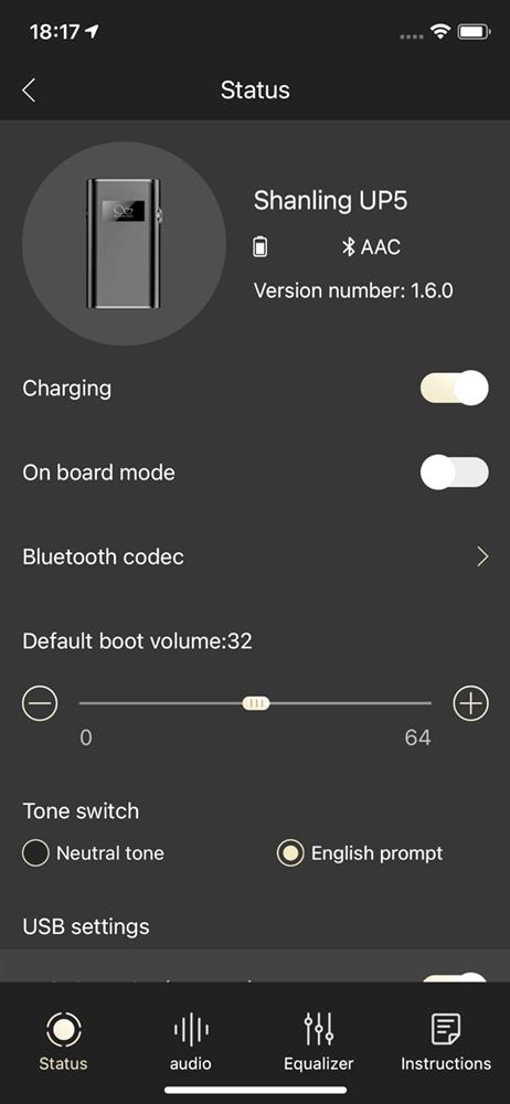 iOS版Eddict Playerの画面