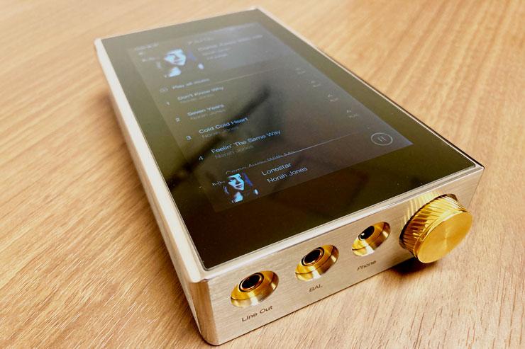 DX300MAX試聴デモ機