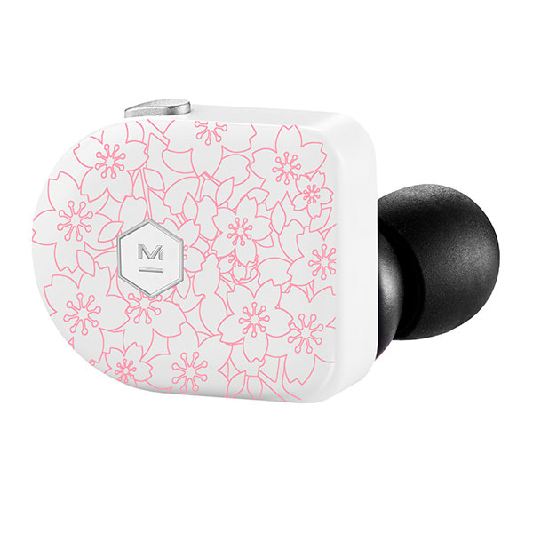 MW07 Plus Wireless Earphones - Cherry Blossom