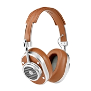 MH40 Wireless Over Ear Headphone - SIlver/Brown MH40S2-W