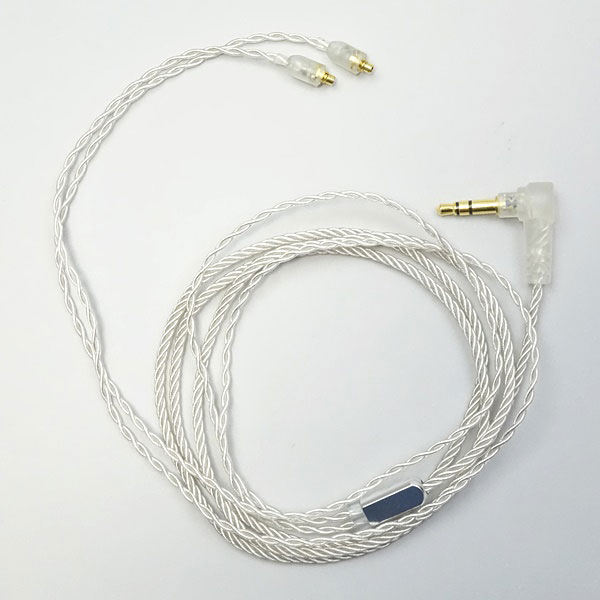 【中古】Pure Silver Litz IEM Cable - MMCX - 3.5mm