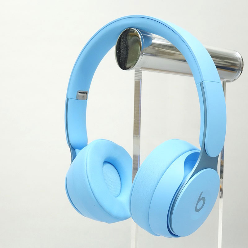 【中古】Beats Solo Pro More Matte Collection ライトブルー【MRJ92FE/A】